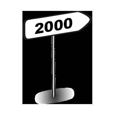 Wegweiser 2000